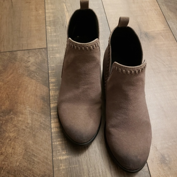 Greyish Taupe Ankle Booties